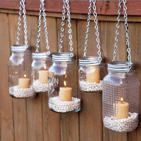 Glass Oil Lamp Glass Mason Jar Lanterns Diy Mason Jar Candle Holder