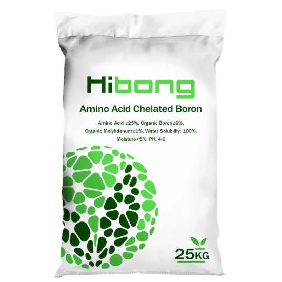 Agricuture Amino Acid Chelated Boron Organic Fertilizer