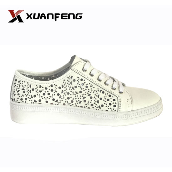 9a844a80afb7 New Fashion Action Leather Casual Women Shoes with Rb Sole pictures   photos