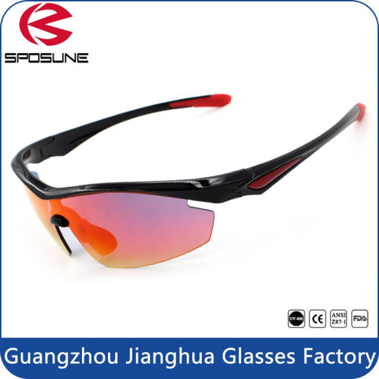 4705a2ae157 China Flexible Tr90 Frame Anti Glare Fishing Glasses with Polarized ...