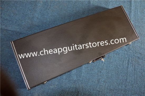 Rectangle Black Hardcase Electric Guitar and Bass/ Can Custom Color Inside/Custom Offer