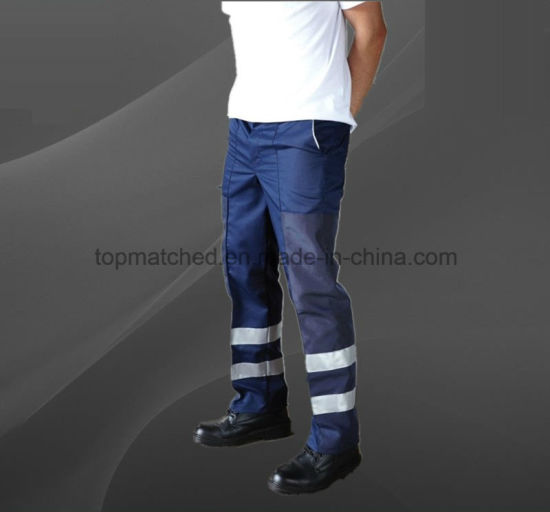 High Visibility Fireproof and Anti-Static Safety 3m Reflective Tapes Pants pictures & photos