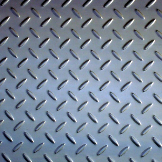 Riffled Steel Plate /Sheet (Q235/A36/SS400) pictures & photos