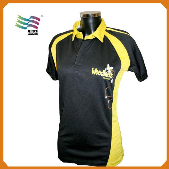 Cheap Custom Polo T-Shirts with Logo Printing (HY8790)