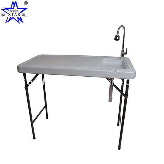 Household Outdoor Portable Folding Fish Cleaning Table