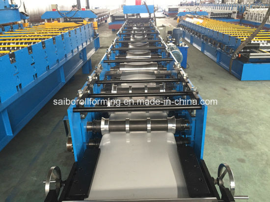 Ridge Cap Roll Forming Machine with Wall Panel Structure pictures & photos