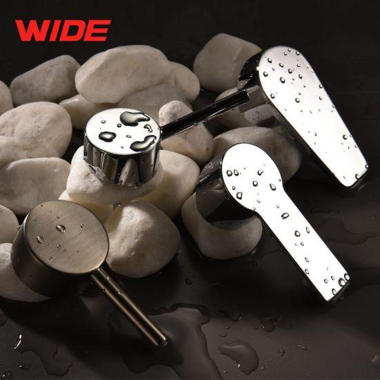 Wide Zinc Die Casting Washbasin Faucet Handle