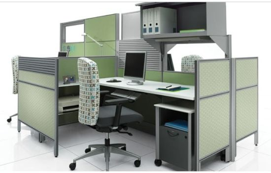 Colorful Desk Partion Fabric Screen for Office Workstation Partition pictures & photos