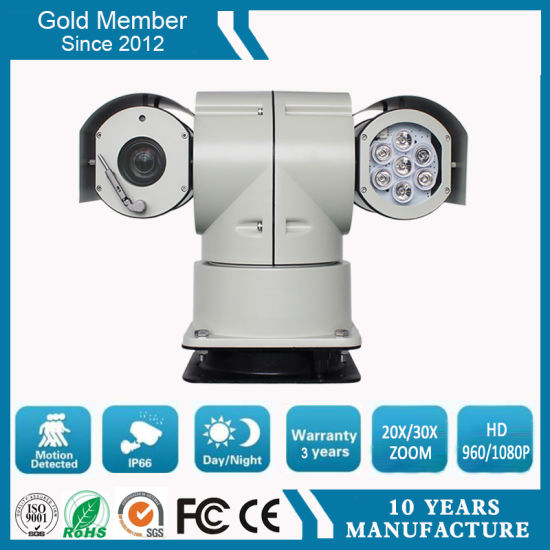 100m Night Vision 20X 2.0MP HD IR Vehicle CCTV Camera pictures & photos