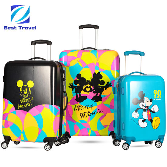 eba3d454a SGS Approved Manufacturer OEM Print Suitcase ABS/PC Printed Trolley Travel  Spinner Luggage Trolley Case