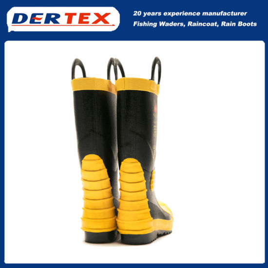 China Fireman Boots Safety Shoes and