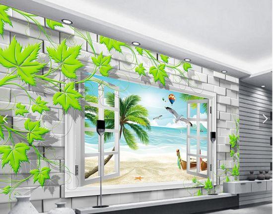 Eco Solvent Non Woven Vinyl Wallpaper For Digital Printing