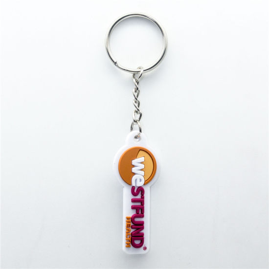 High Quality Promotional EVA Key Ring Metal Fashion Promotion Custom Attachment pictures & photos