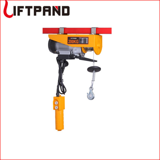 Factory Anti-Rotation Galv Steel Wire Rope Mini Electric Hoists (100kg - 1200kg)