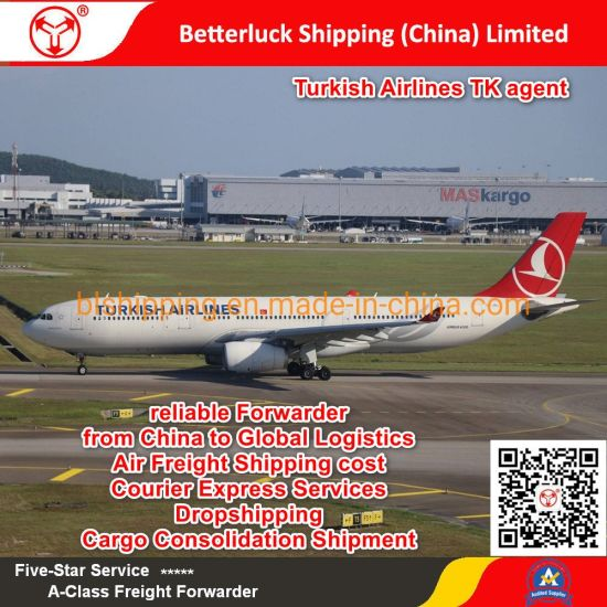 reliable Forwarder from China to Turkmenistan Ashgabat(ASB)Airport Logistics Air Freight Shipping cost pictures & photos