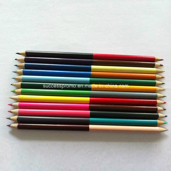 Double Head Wooden Color Pencils