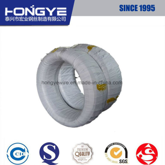 for Sale DIN 17223 4mm Galvanized Mild Steel Wire pictures & photos