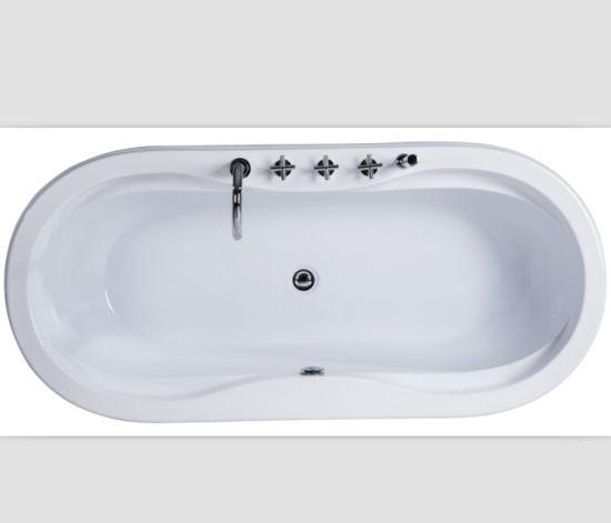 China Acrylic Alcove Installation Bath Tubs - China Built-in Bathtub ...