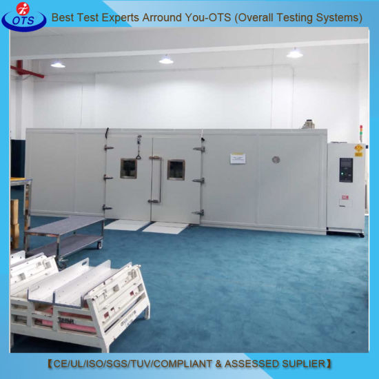 Programmable Controller Environmental Temperature Humidity Walk-in Test Chamber