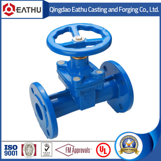 BS 5163 Ductile Iron Rising Stem Gate Valve pictures & photos