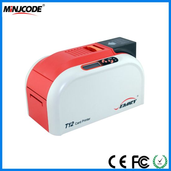 hot sale cheap price card printing machine plastic id card ic card pvc card printer ce fcc rohs approved seaory t12 - Cheap Id Card Printer