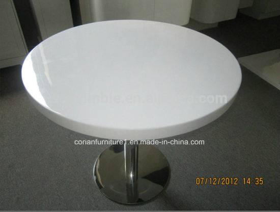China Corian Style Custom Sized Solid Surface Coffee Table China - Custom size coffee table