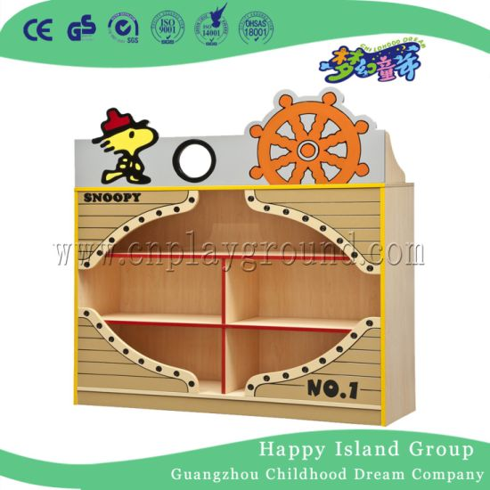 China Wooden Kids Role Play Shelf For Children S Storage