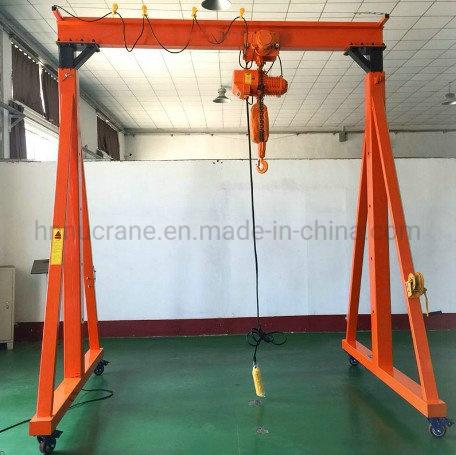 Small Mini Mobile Workshop Remote Control Gantry Crane 10 Ton Price