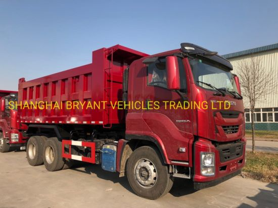 New Generation China Isuzu Giga 10 Wheel Dump Truck China Tipper Truck Tipper