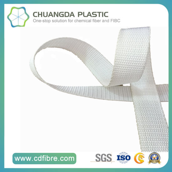 Fashionable Wholesale White Polypropylene / PP Woven Belt pictures & photos