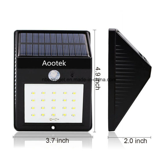 Bright Solar Power Outdoor LED Light Motion Activated Light for Garden Patio Path Pool pictures & photos