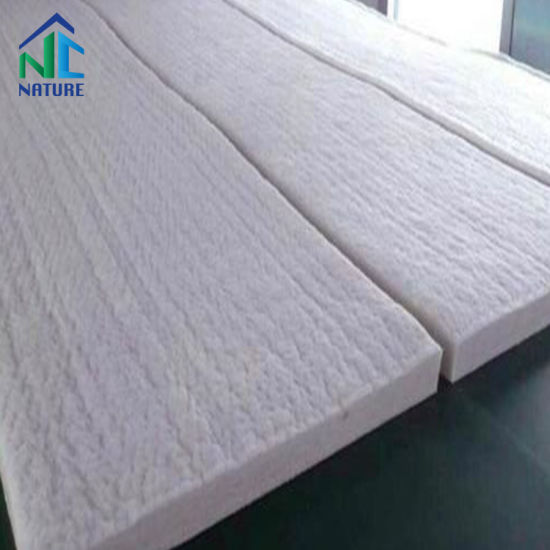 96kg/M3 128kg/M3 1260st 1350ha 1430Hz, 7200*610*25mm 3600*610*50mm, Ha HP Mullite High Alumina Ceramic Fiber Blanket Refractory Materials pictures & photos