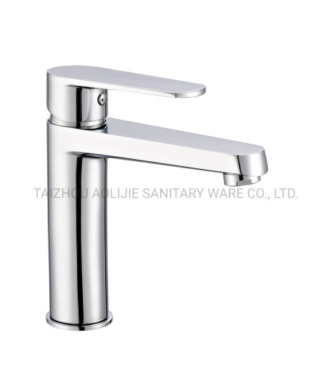 High Quality Deck Mounted 180mm Height Brass Basin Faucet Bathroom Shower Tap