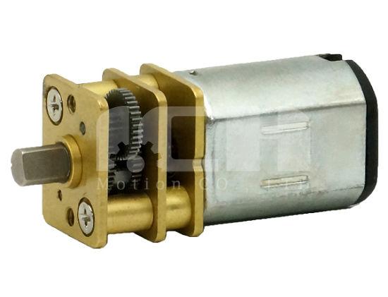 12mm 2.4V 3V 12V 24V Mini Brush N20 DC Electric Gear Motor