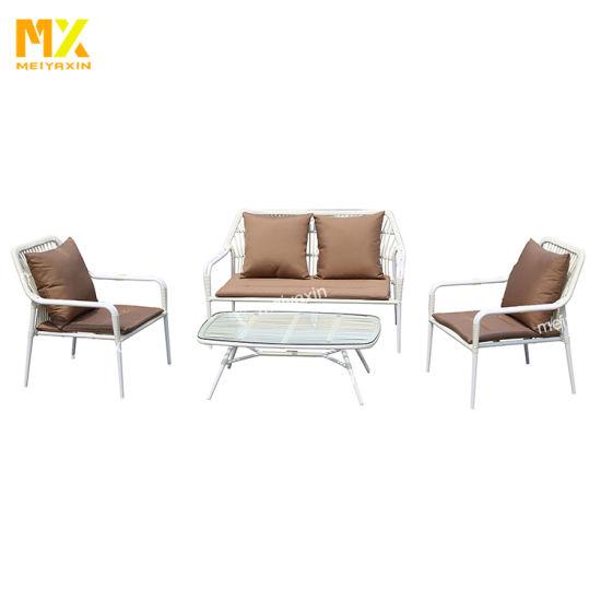 Meiyaxin Rattan Dining Stackable Garden Armchair (accept customized)