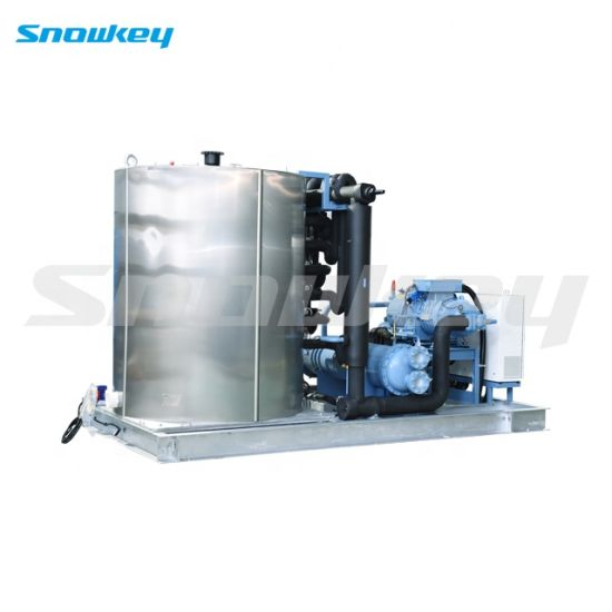 Snowkey China Top1 Best Quality Newest Design Seawater Flake Ice Making Machine