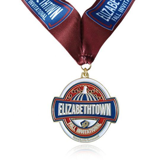 International Sport Luxury Custom Made Ribbon Cool Medal