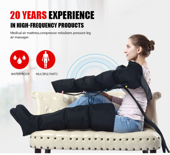 Physical Therapy Air Compression Cuff Leg Massage for Blood Circulation