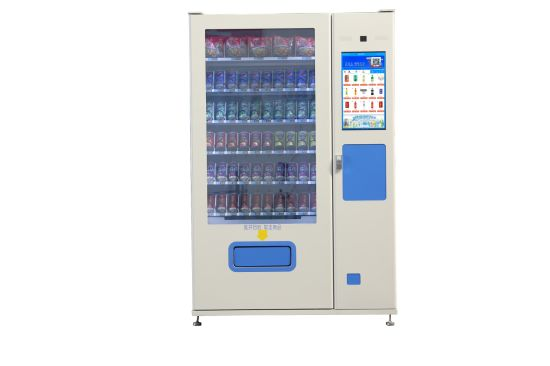Convenience Store Automatic Snack and Drink Combo Advertisement Self-Service Vending Machine with LCD Screen