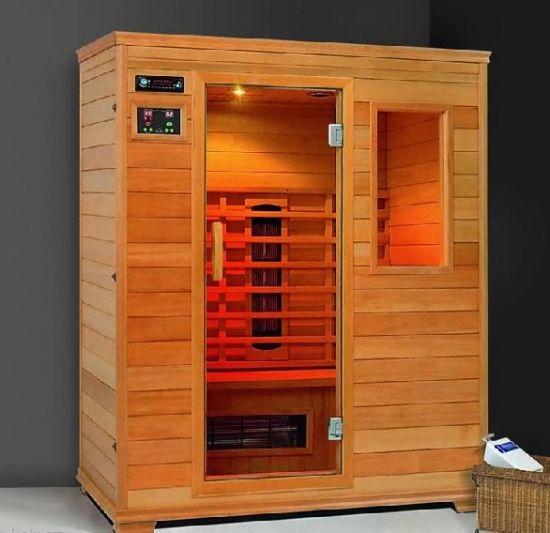 China Dry Infrared Sauna Room Spruce Wood China Sauna