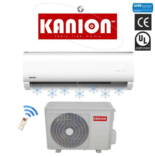 China Kanion R410a Inverter Mini Split Ac Wall Split Mounted Air