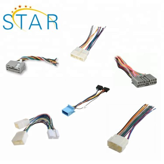 car radio cd player audio stereo wire harness for honda