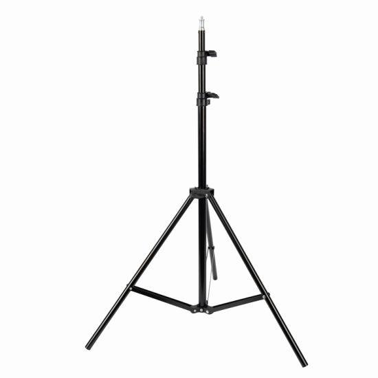 Musicsound Metal Aluminum Mobile Phone Live Camera Mounting Bracket 2m Tripod Stand