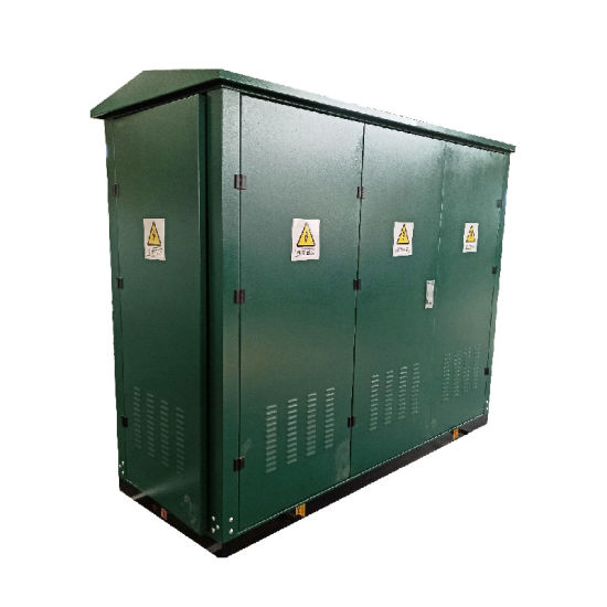 Free Standing 12/24kV Medium Voltage MV Outdoor Gas Insulated Ring Main Unit