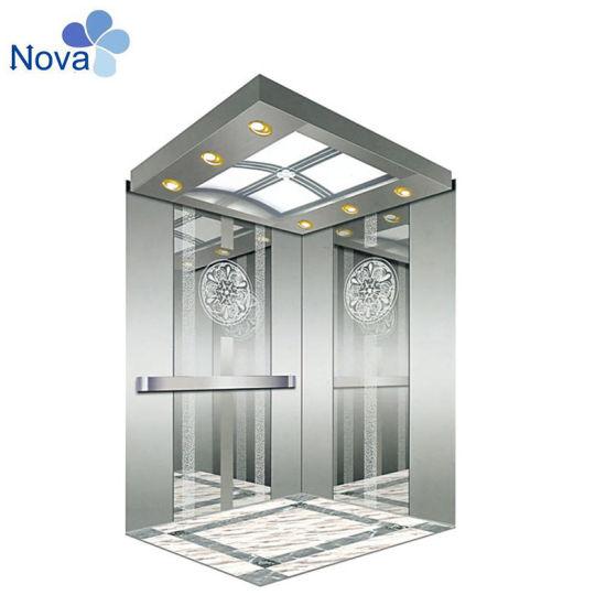 FUJI Hairline Stainless Steel Passenger Elevator Lift