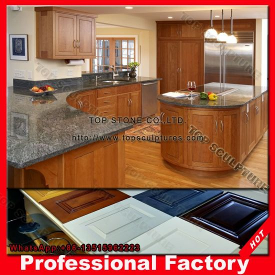 Factory Direct Antique Solid Wood Modular Kitchen Cabinet