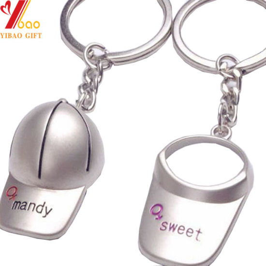 Custom Logo 3D Metal Keychain for Promotional Gift