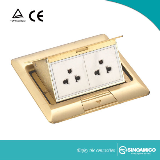 China Floor Boxes Pop Up Assembly Kit By Electrical Outlets