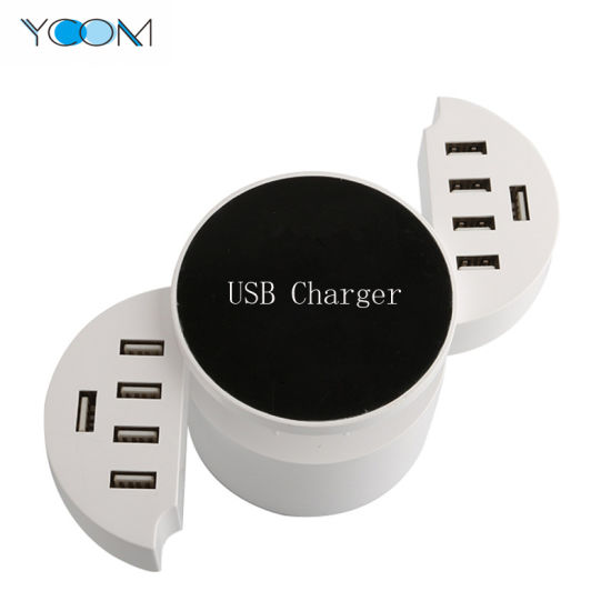 Ycom Portable 5V 8.2A Multi USB Cable Charger Universal USB Wall Charger 10 Ports USB Charger pictures & photos