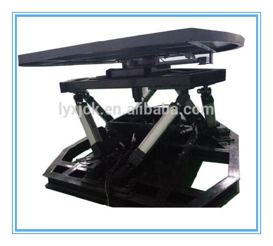 China 6dof Electric Motion Platform 360 Degrees Rotary Table for